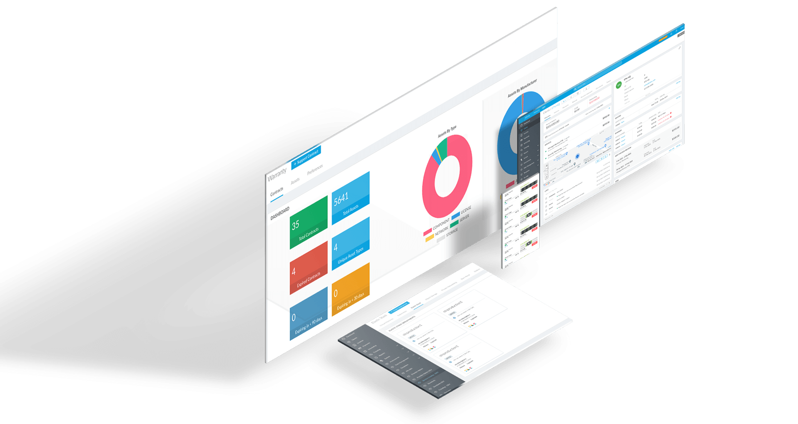STN Software Screens